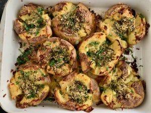 Mashed potatoes efter ovn