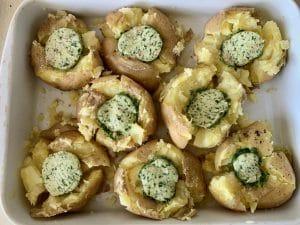 Mashed potatoes før ovn